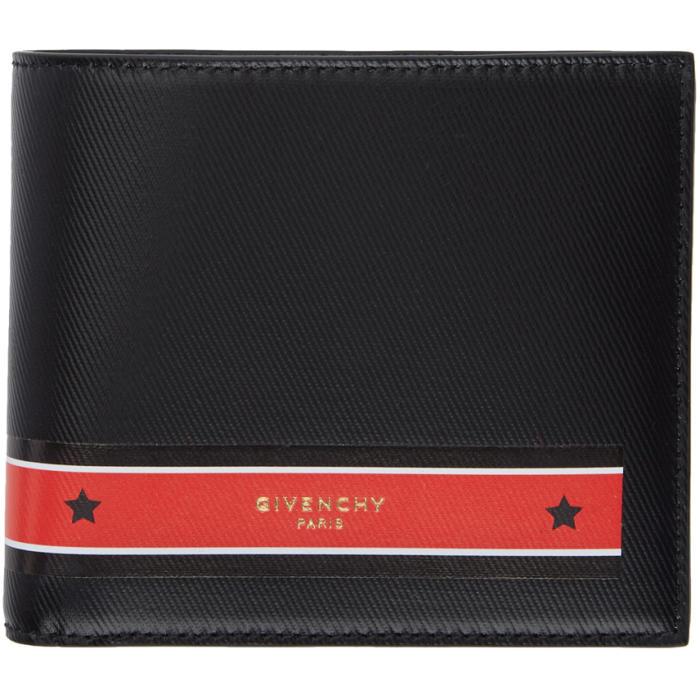 Photo: Givenchy Black Stars Tape Wallet