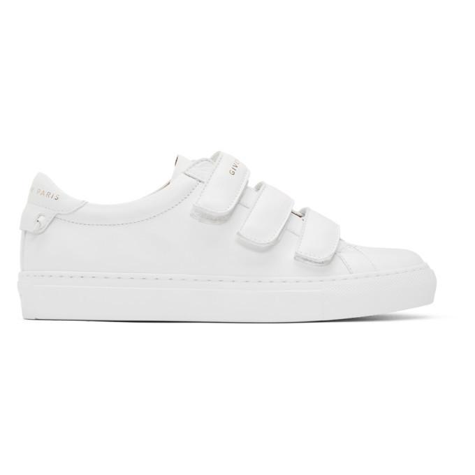 Photo: Givenchy White Urban Street Sneakers