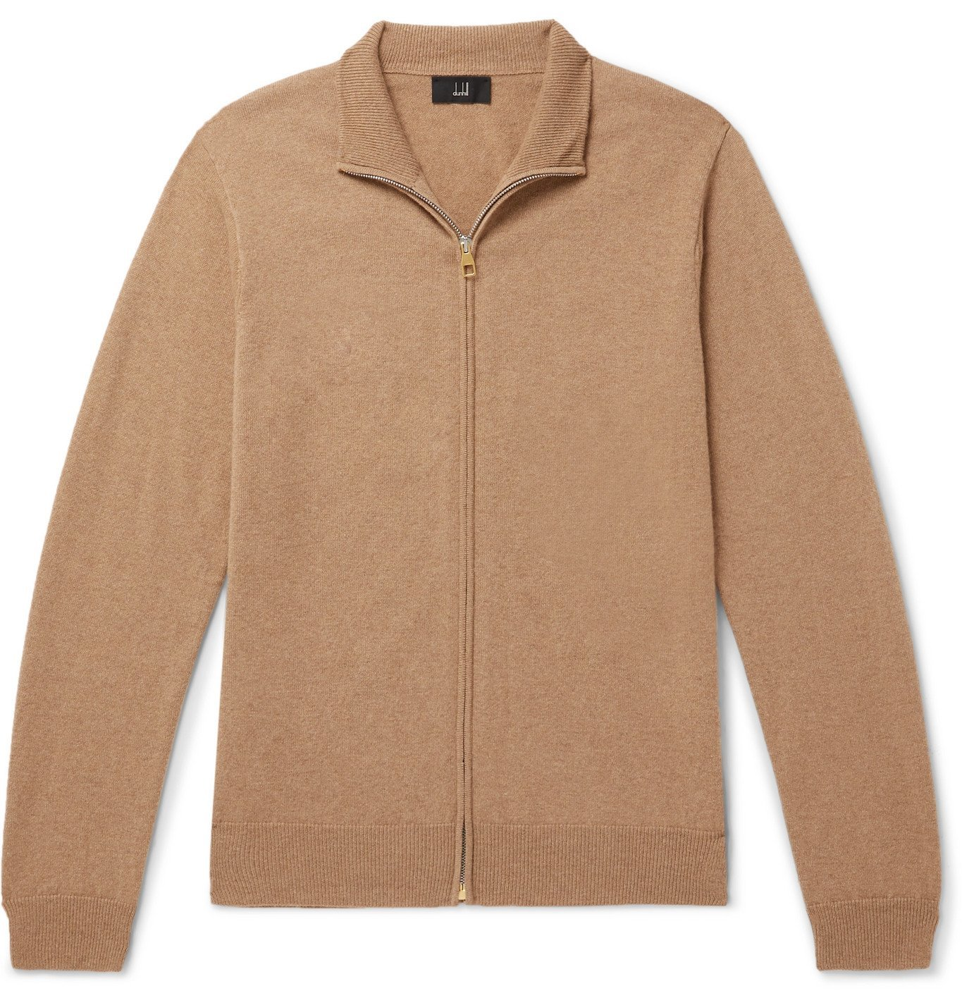 Dunhill - Cashmere Zip-Up Cardigan - Brown