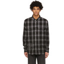 Ksubi Grey Plaid Consciousness Shirt