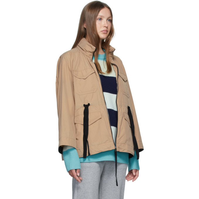 Moncler Tan Bistre Jacket