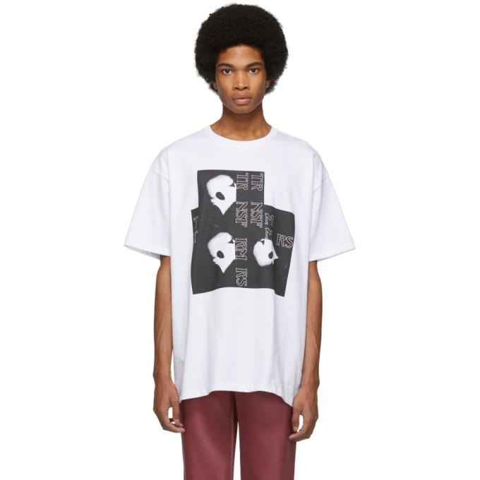Raf Simons White Head T-Shirt