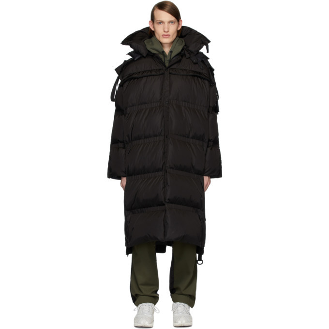 Photo: Moncler Genius 5 Moncler Craig Green Black Down Sullivan Jacket