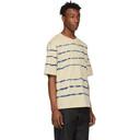 3.1 Phillip Lim Taupe Tie-Dye Boxy T-Shirt
