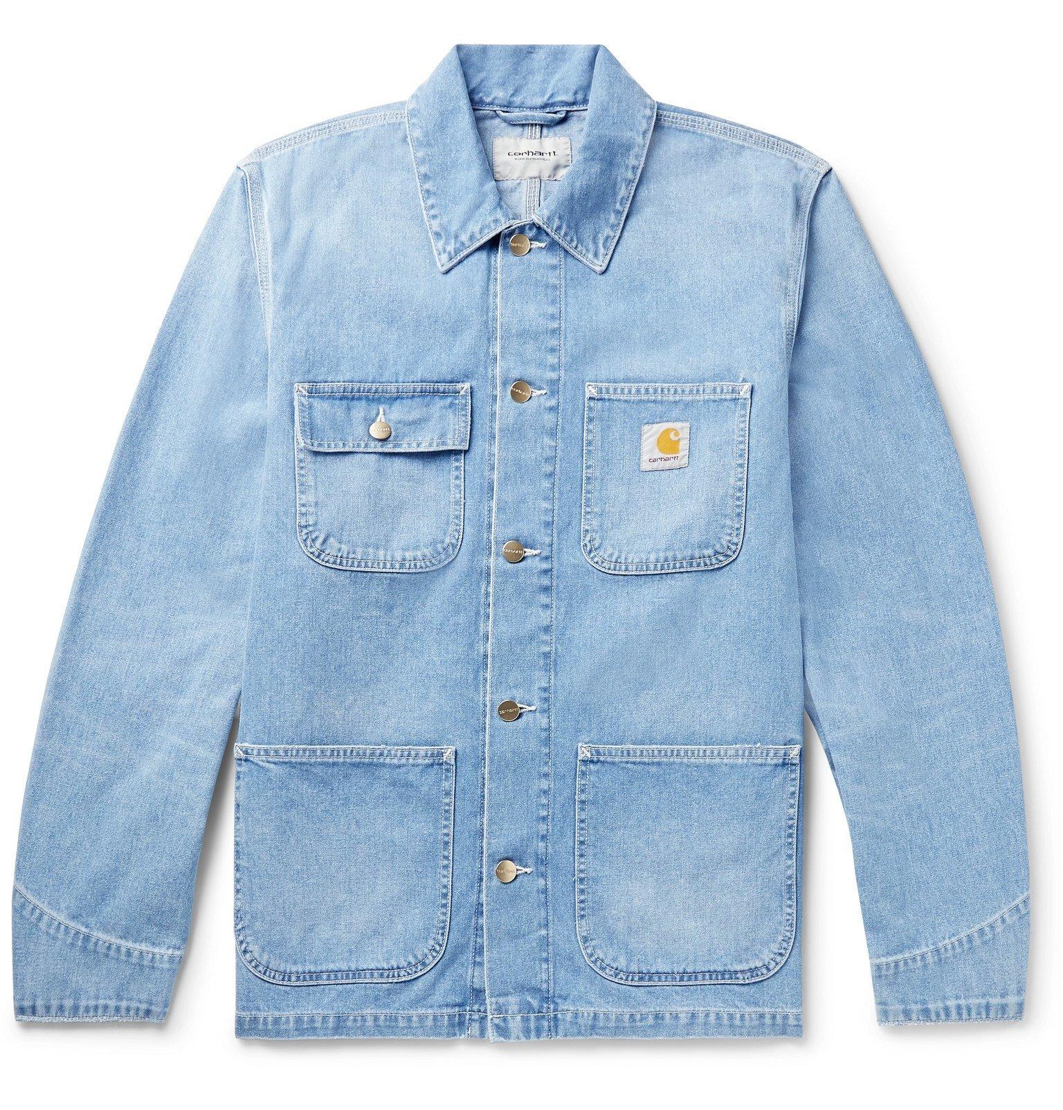 Photo: Carhartt WIP - Michigan Denim Chore Jacket - Blue