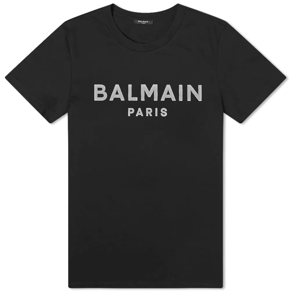 Photo: Balmain Flock Tee