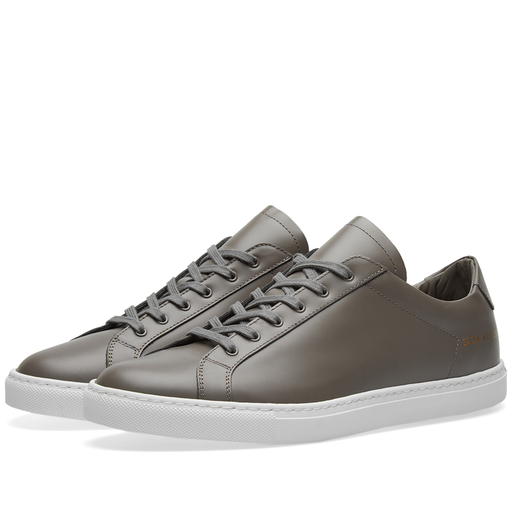 Common Projects Retro Low Boxed Leather