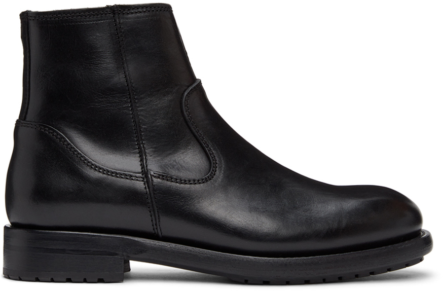 Photo: Belstaff Black Markham Chelsea Boots
