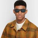 Oliver Peoples - Jaye Rectangle-Frame Acetate Polarised Sunglasses - Black