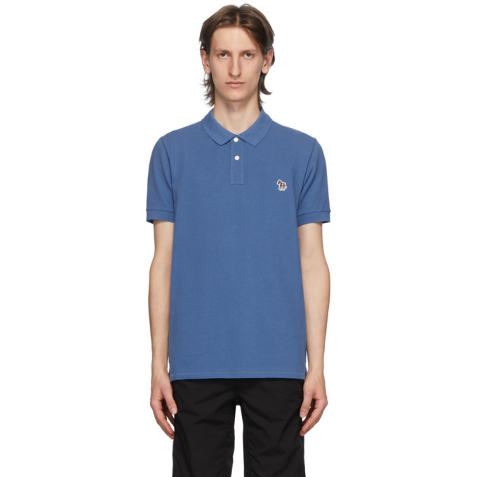 Photo: PS by Paul Smith Blue Zebra Polo