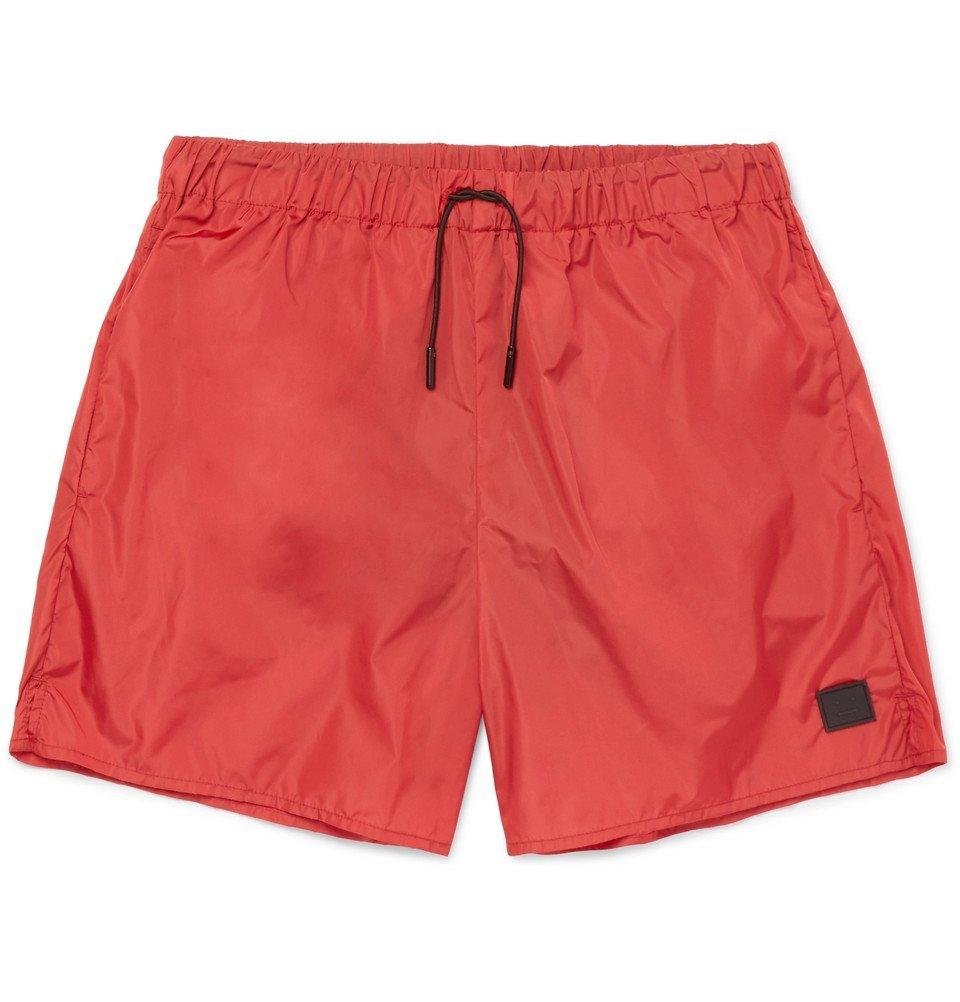 Acne Studios - Perry Mid-Length Swim Shorts - Men - Red