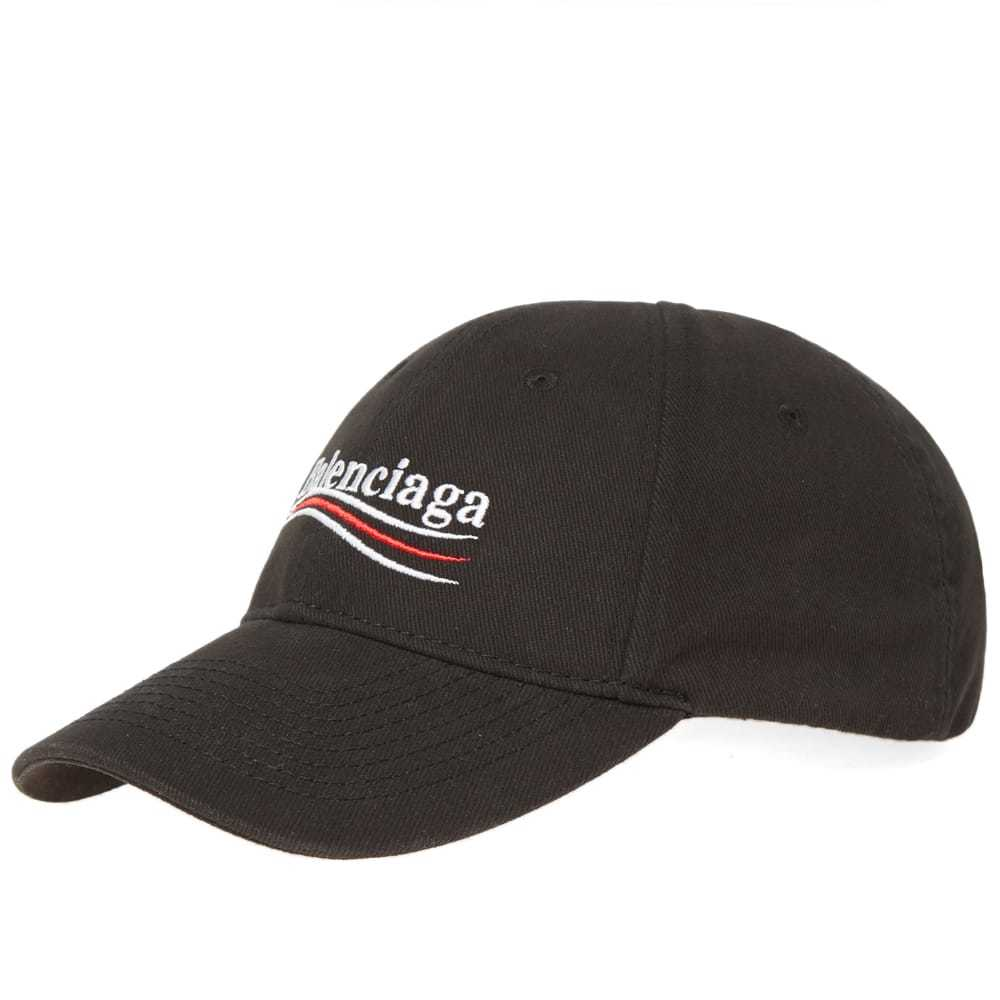 Photo: Balenciaga Wave Logo Cap Black