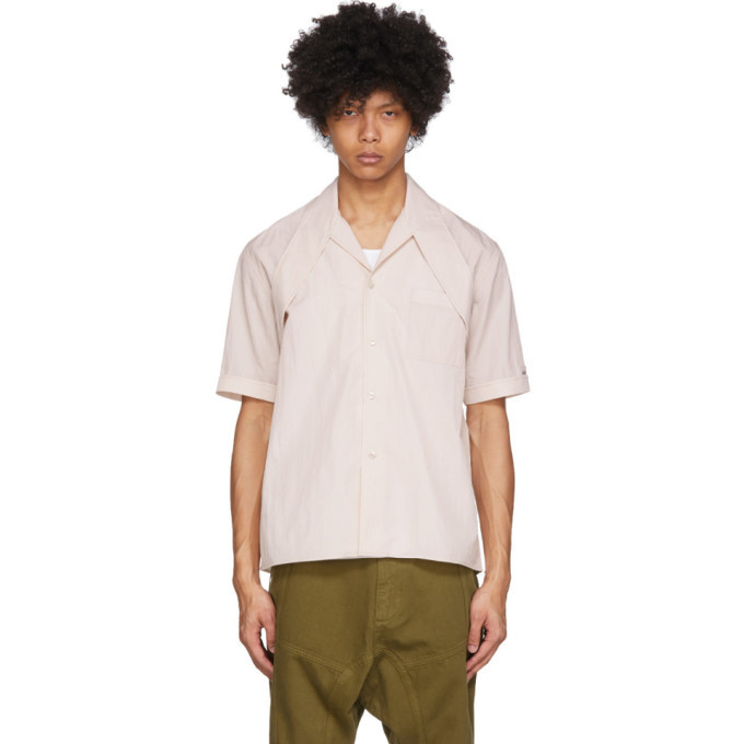 Photo: GmbH Beige Latif Short Sleeve Shirt