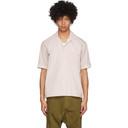 GmbH Beige Latif Short Sleeve Shirt
