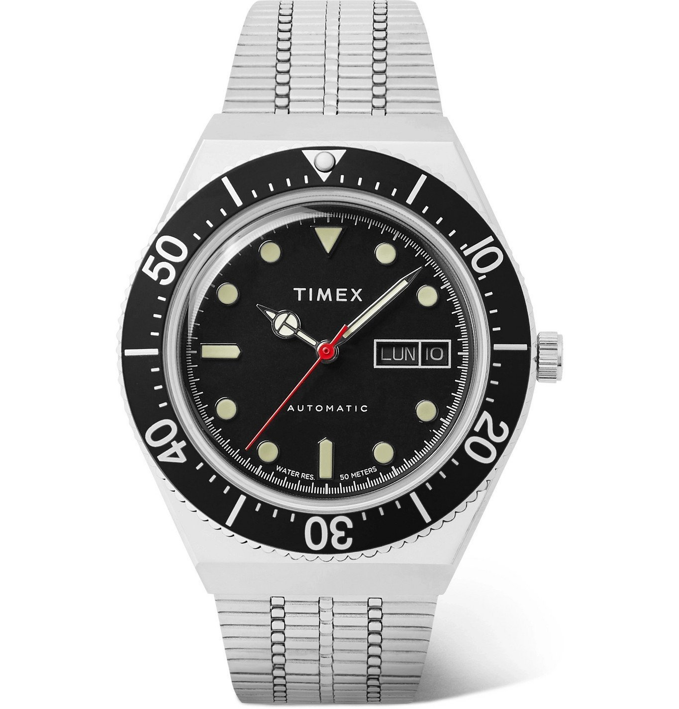 Photo: Timex - M79 Automatic 40mm Stainless Steel Watch - Black