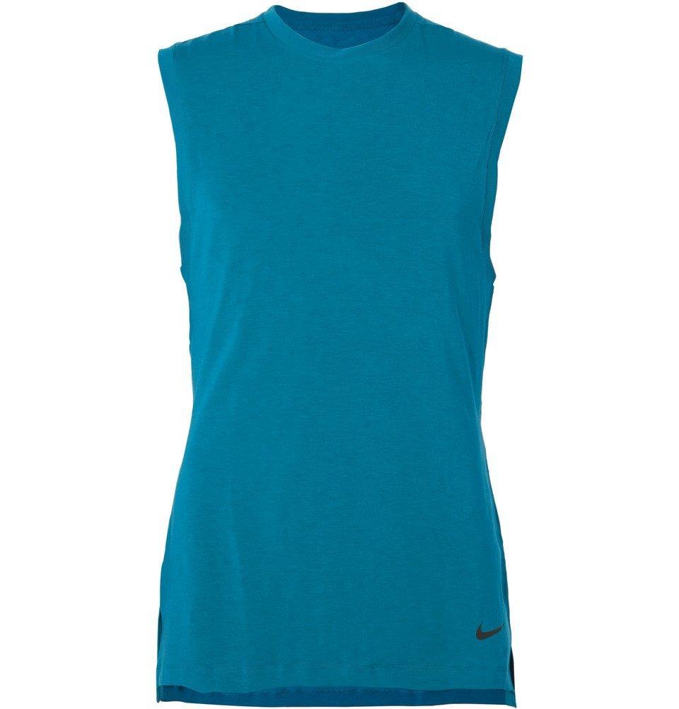 Photo: Nike Training - Transcend Dri-FIT Tank Top - Blue