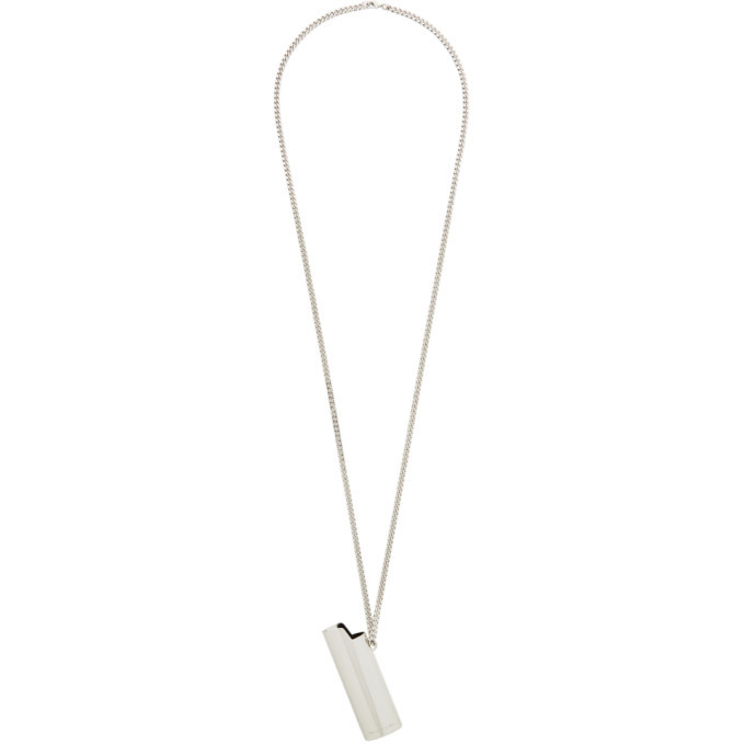 Photo: 1017 ALYX 9SM Silver Lighter Case Necklace