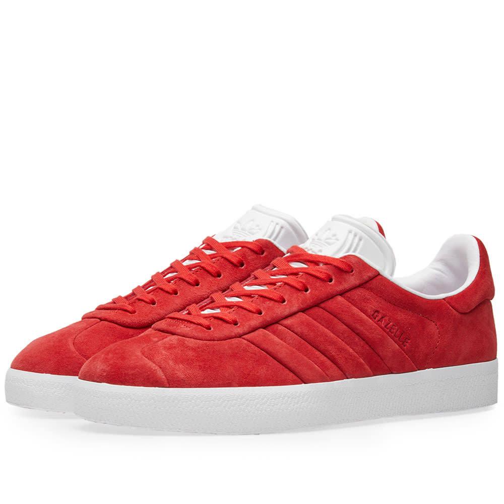 Adidas Gazelle Stitch & Turn Red