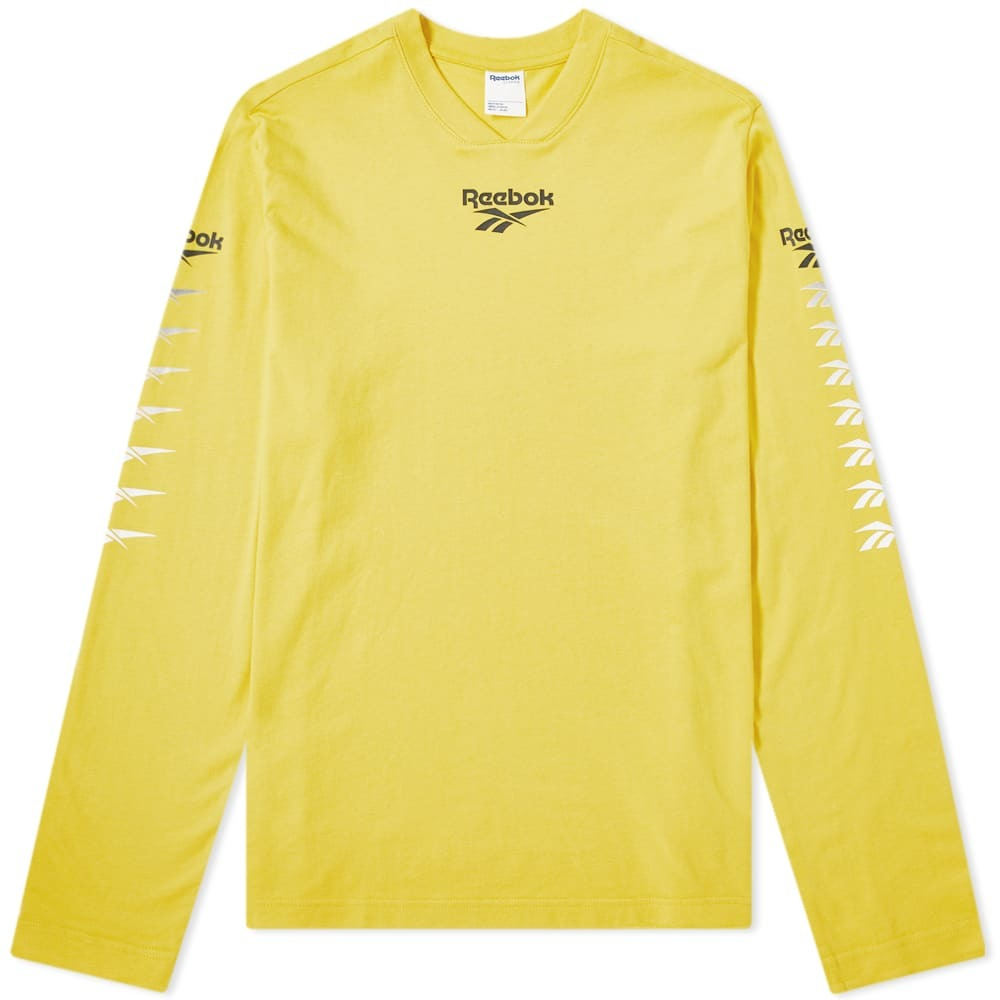 Photo: Reebok Long Sleeve Multi Vector Tee