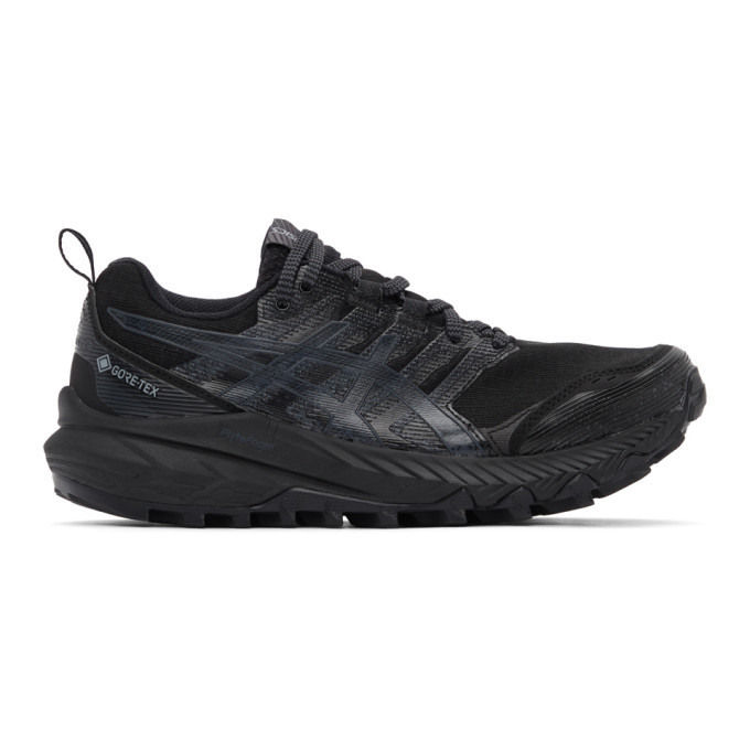 Photo: Asics Black Gel-Trabuco 9 GT-X Sneakers
