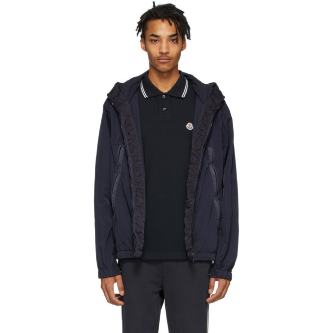 Photo: Moncler Black Windbreaker Jacket