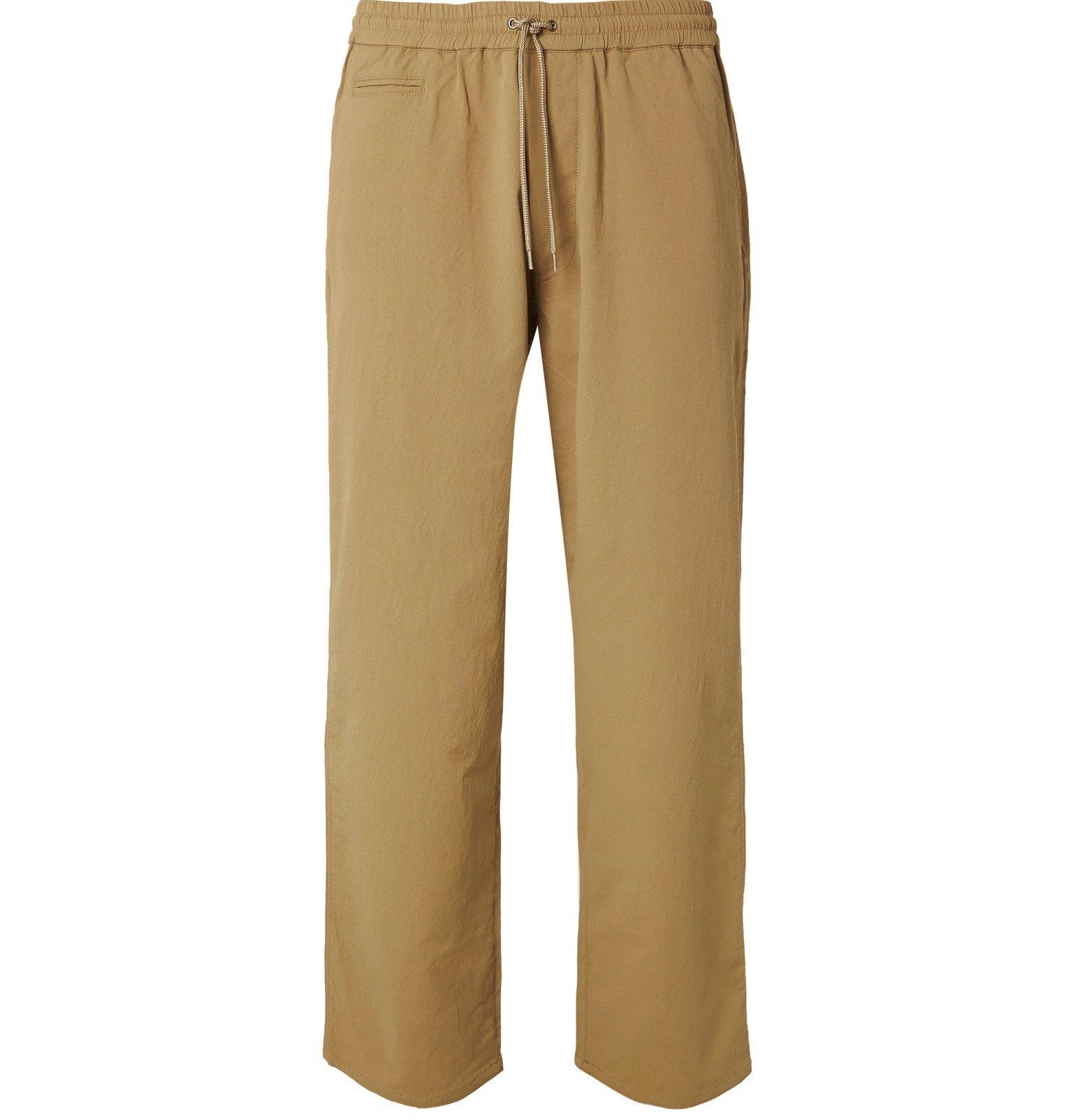 Photo: nanamica - Wide-Leg ALPHADRY Drawstring Trousers - Neutrals