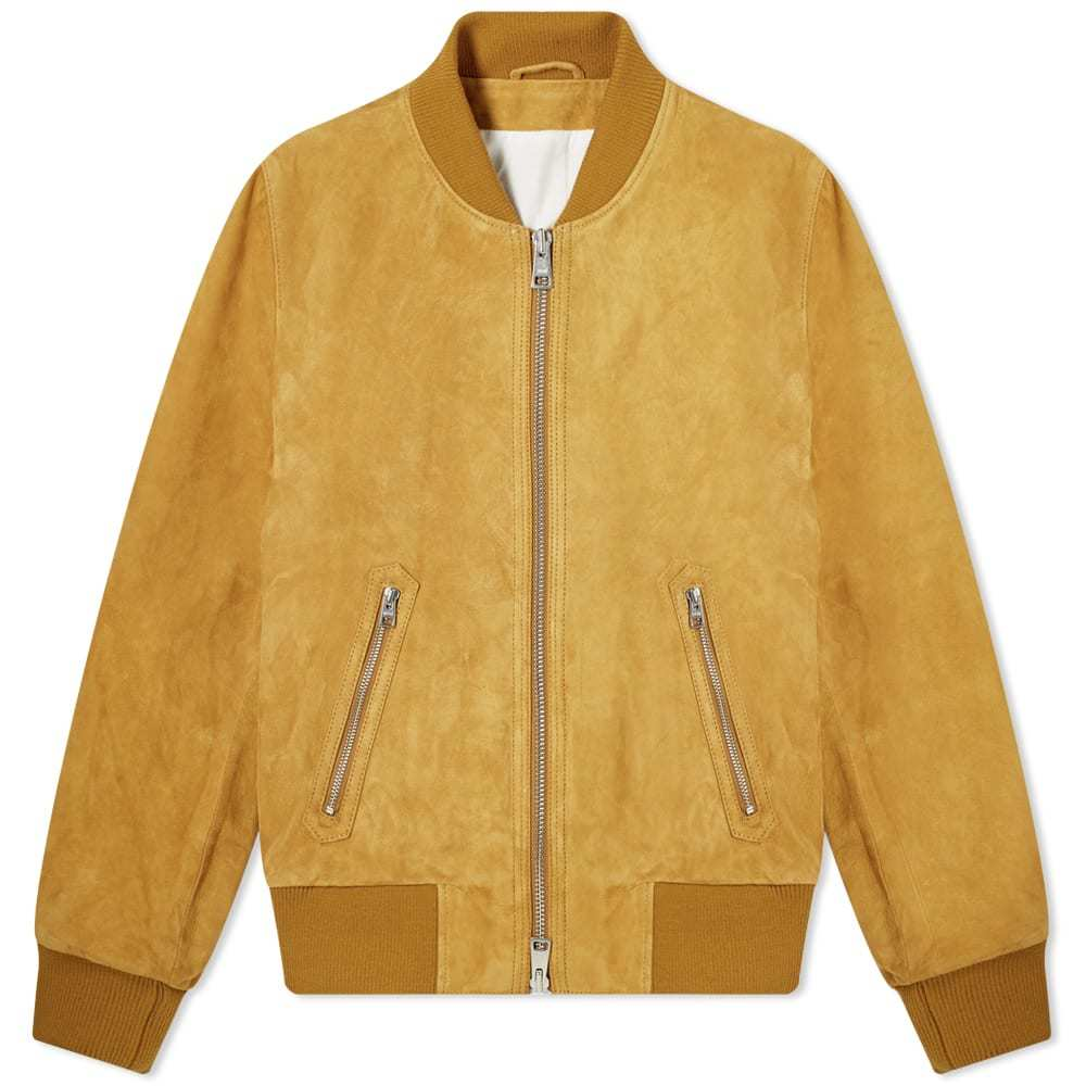 Photo: AMI Suede Bomber Jacket
