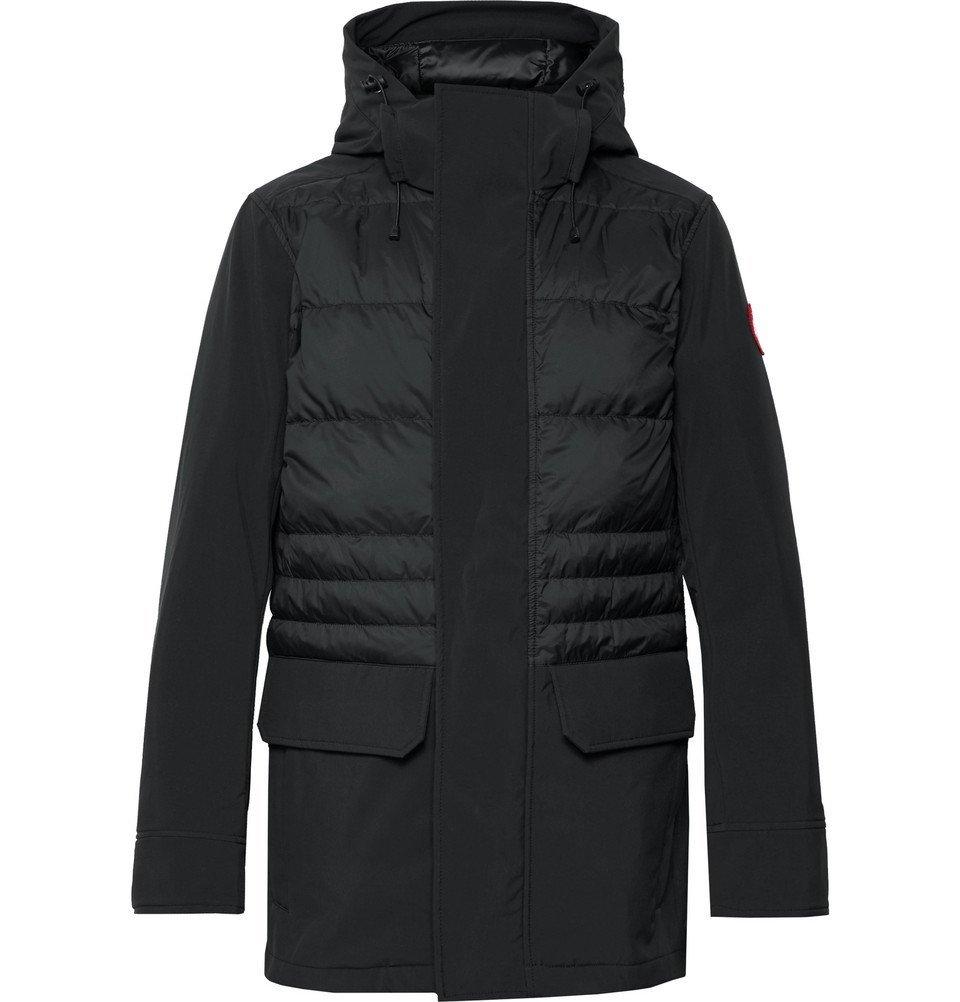 Photo: Canada Goose - Breton Tri-Durance Hooded Down Coat - Black