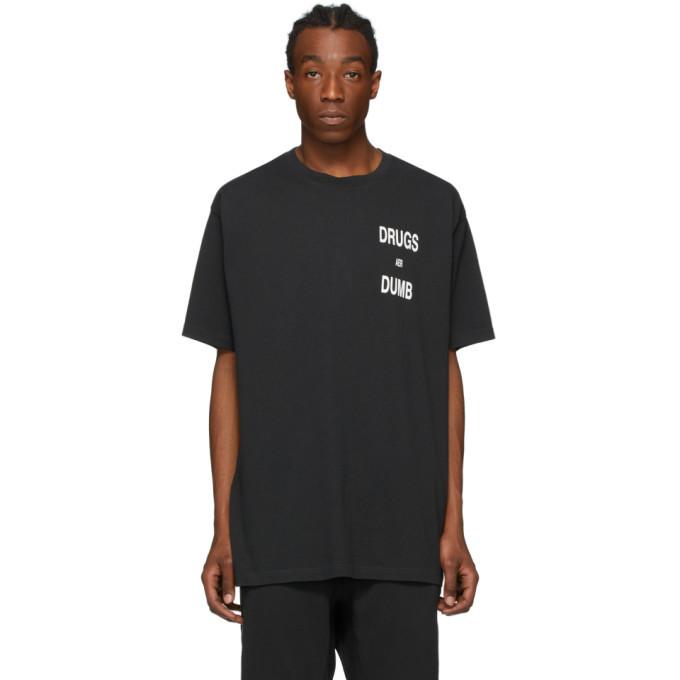 Ksubi Black Drugs Aer Dumb T-Shirt
