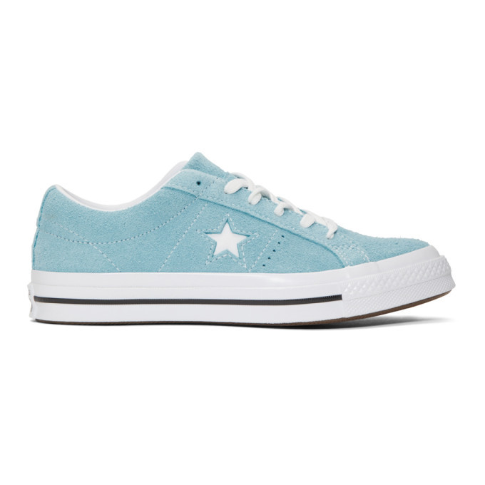 Photo: Converse Blue Suede One Star Sneakers