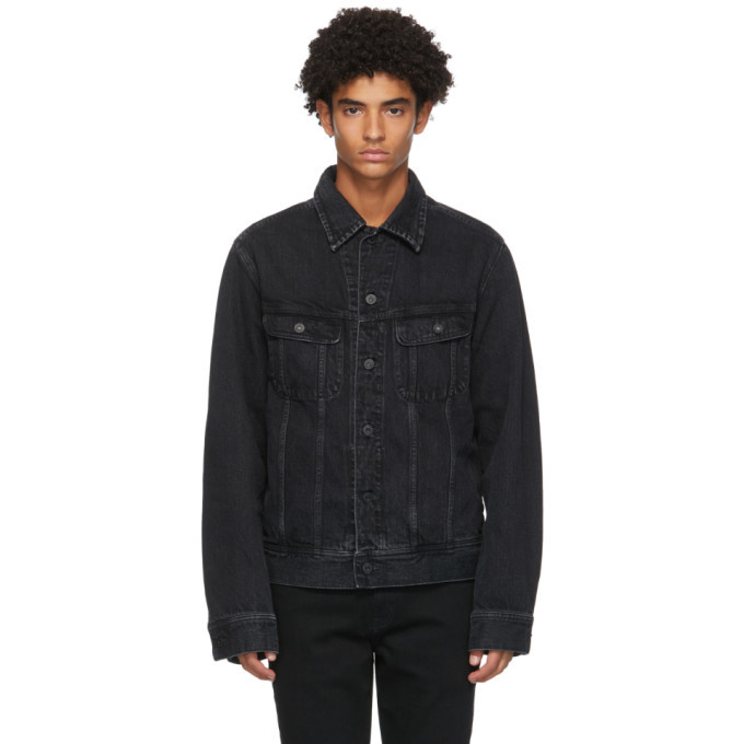 Photo: Moussy Vintage Black Denim MVM Riders Jacket