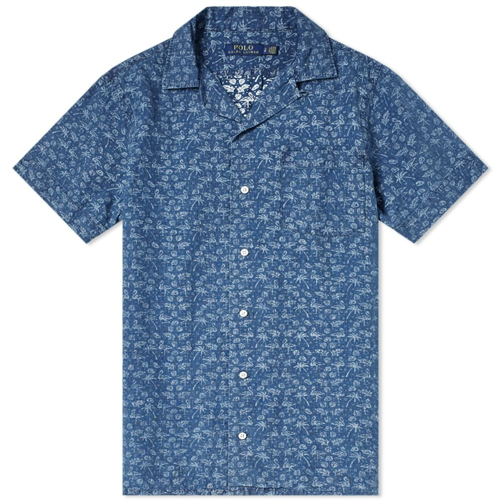Photo: Polo Ralph Lauren Short Sleeve Dobby Print Vacation Shirt