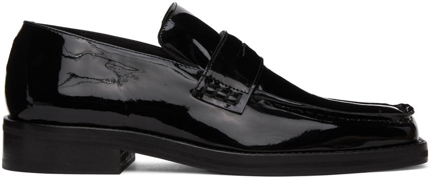 Photo: Martine Rose Black Patent Roxy Loafers