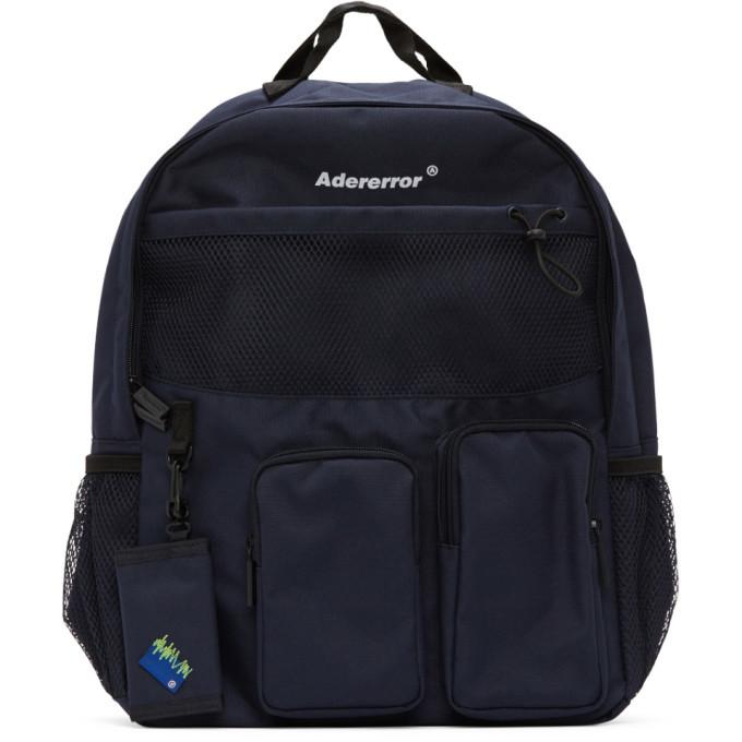 Photo: ADER error Navy Cartridge Backpack
