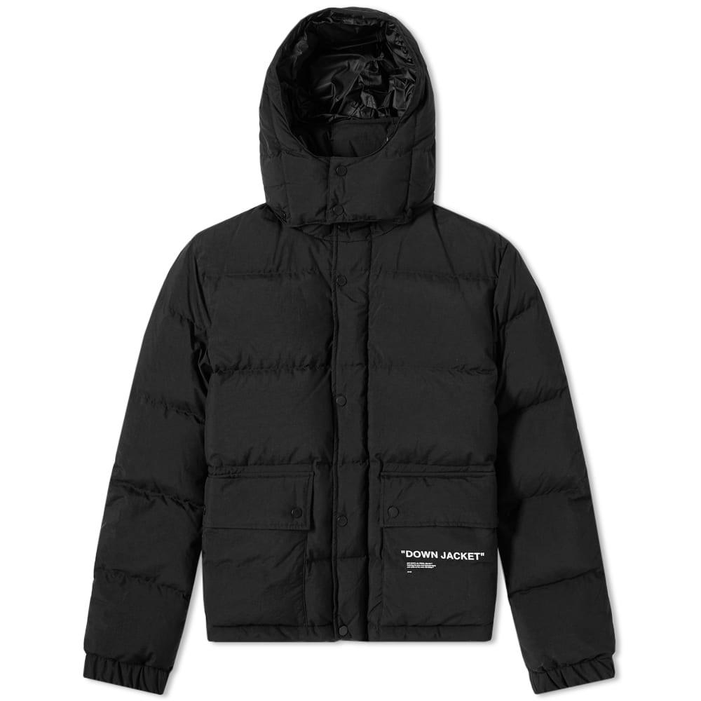 Photo: Off-White Quotes Puffer Jacket