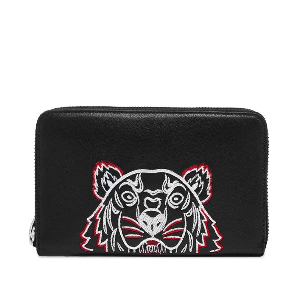 Photo: Kenzo Tiger Leather Zip Wallet