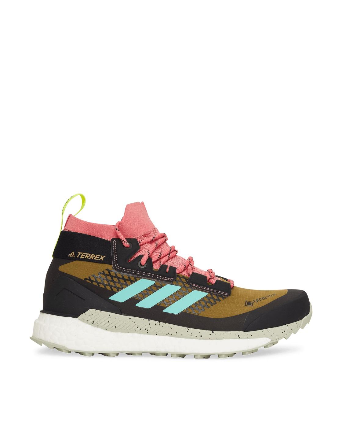 Adidas Originals Terrex Free Hiker Gore Tex Sneakers Wild Moss/Acid Mint