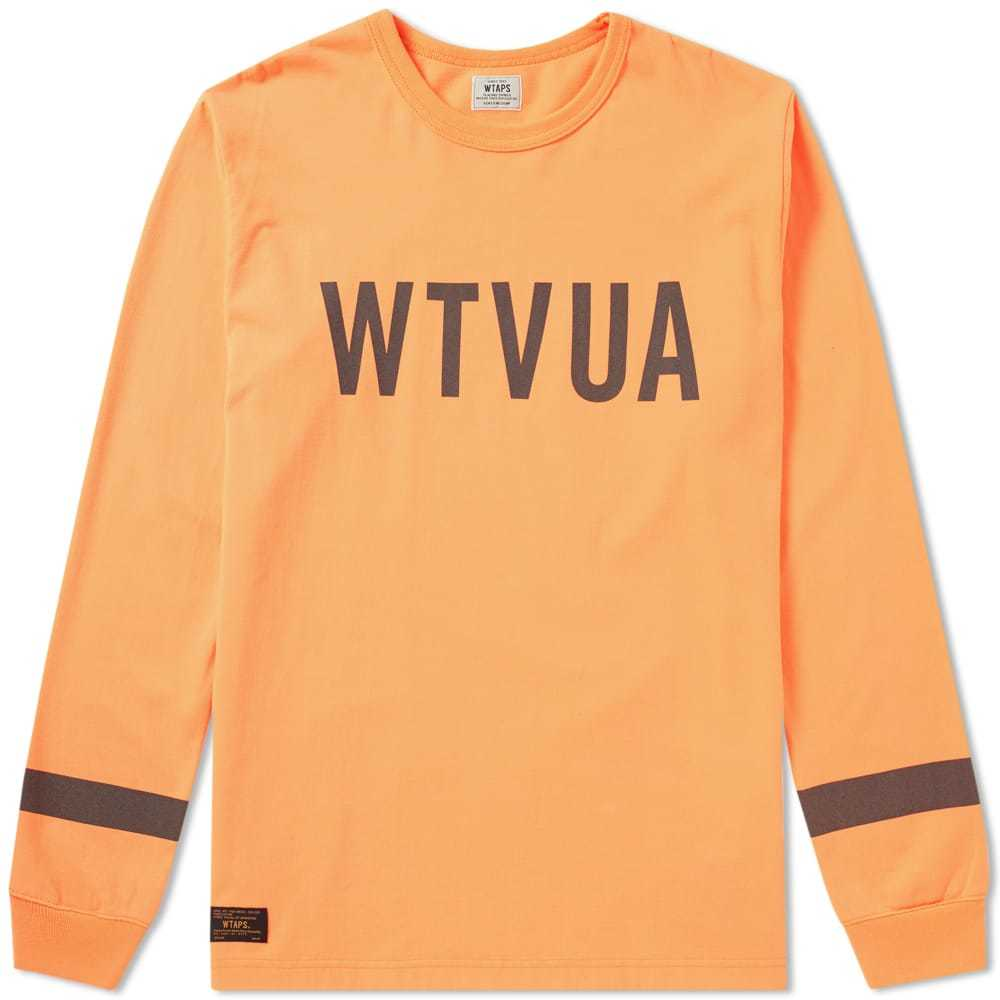 Photo: WTAPS Long Sleeve Hellweek Tee Orange