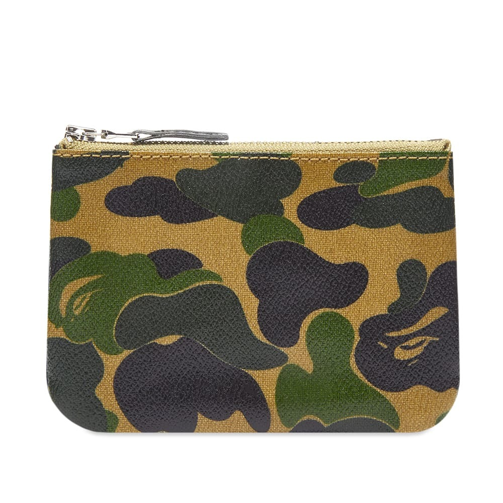 Photo: A Bathing Ape ABC Small Canvas Wallet