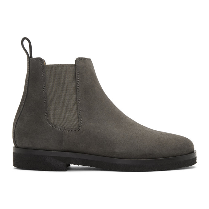 Photo: ETQ Amsterdam Grey CB 01 Chelsea Boots