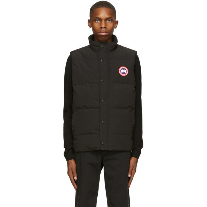 Photo: Canada Goose Black Down Garson Vest