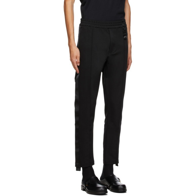 1017 ALYX 9SM Black Trackpant-1 Trousers