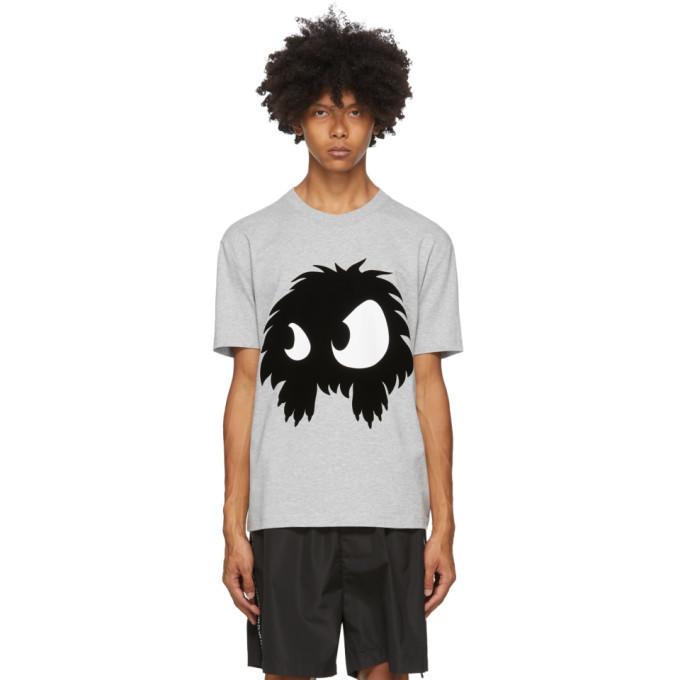 Photo: McQ Alexander McQueen Grey Chester Monster T-Shirt
