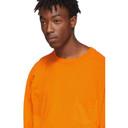 Ksubi Orange Machine Hazard Long Sleeve T-Shirt