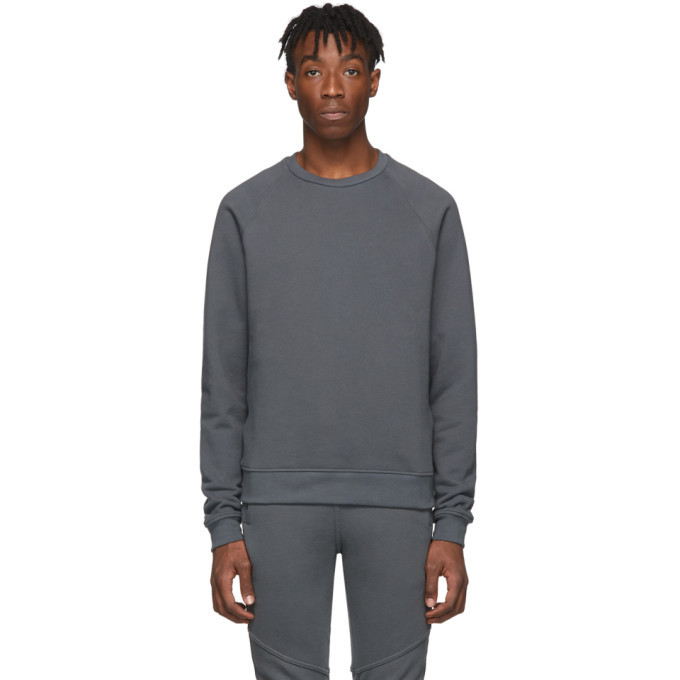 Photo: John Elliott Grey Raglan Crew Sweatshirt