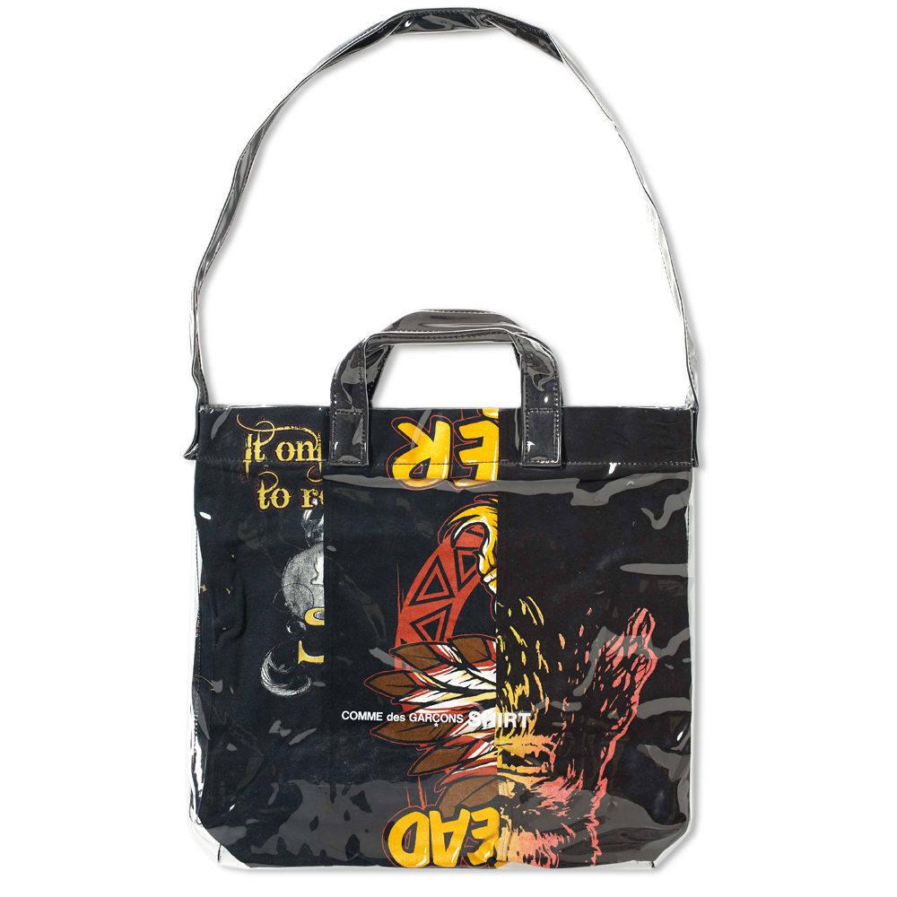 Photo: Comme des Garcons SHIRT PVC Messenger Tote Bag