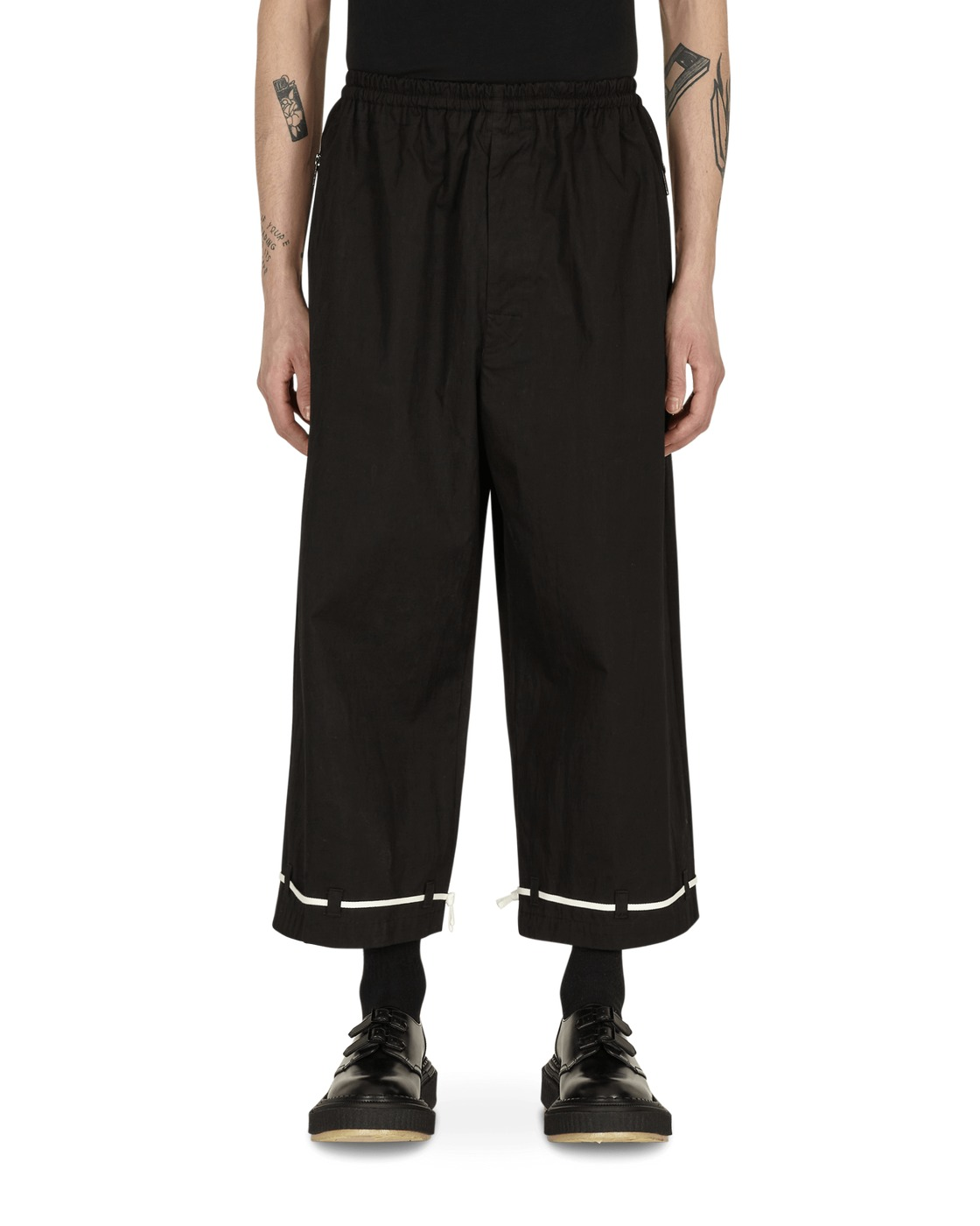 Photo: Undercover Cropped Pants Black