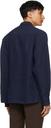 Margaret Howell Indigo Linen Oversized Shirt
