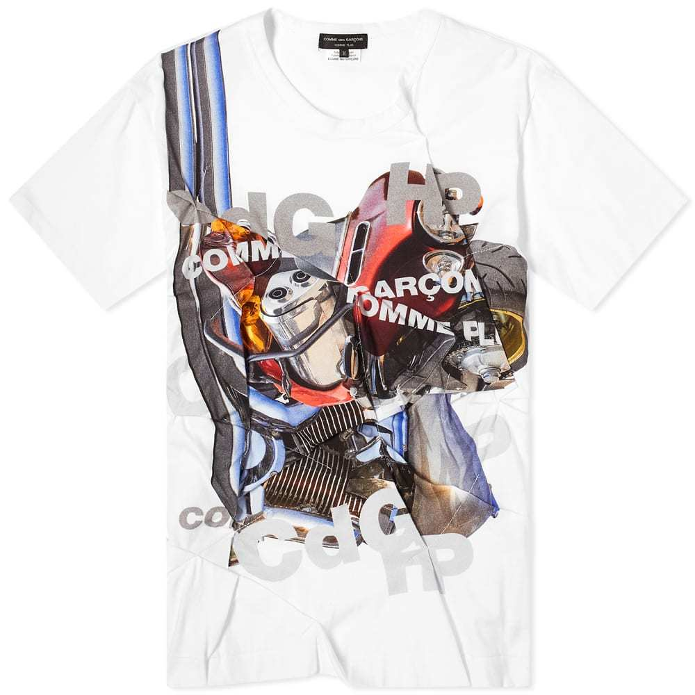 Photo: Comme des Garcons Homme Plus Cut And Sew Patchwork Tee