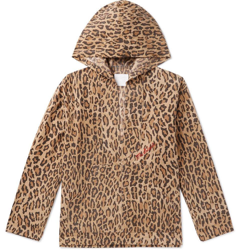 Photo: TAKAHIROMIYASHITA TheSoloist. - Leopard-Print Cotton Hooded Jacket - Multi